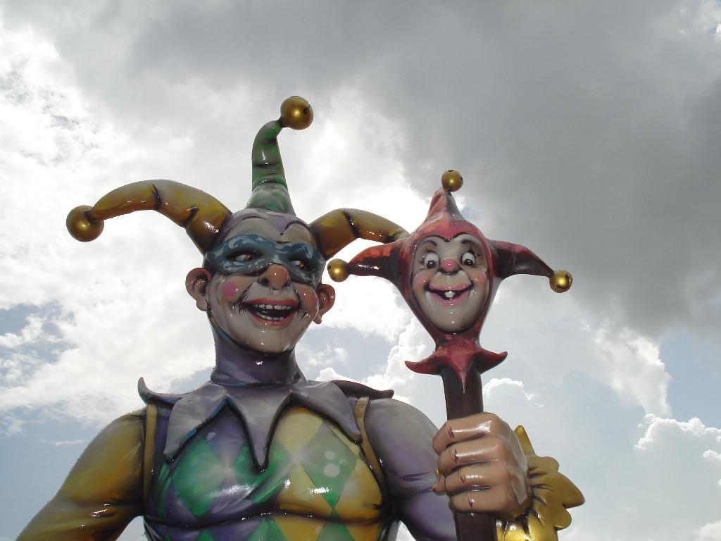 Mardi Gras heykelleri